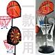 直立式飛鏢籃球架 (飛標靶籃球台/籃球臺/球類運動用品/籃球框/籃球板/籃板架) product thumbnail 1