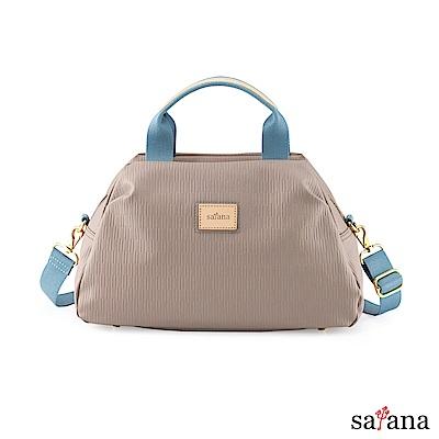 satana - Lady First 自在風格手提包 - 玫瑰棕