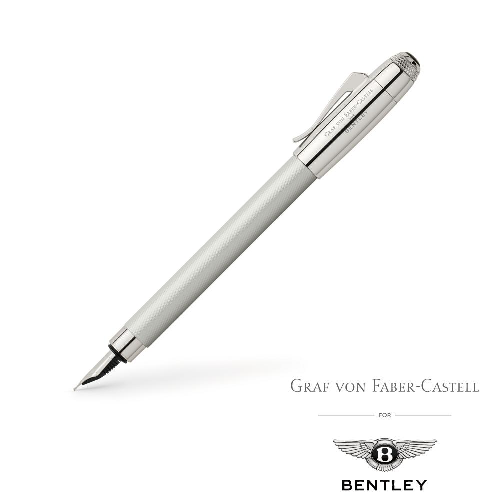 GRAF VON X BENTLEY 賓利限量聯名款 鋼筆(珍珠白)