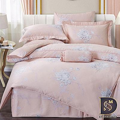 DESMOND岱思夢 加大100%天絲全鋪棉床包兩用被四件組 麗卉