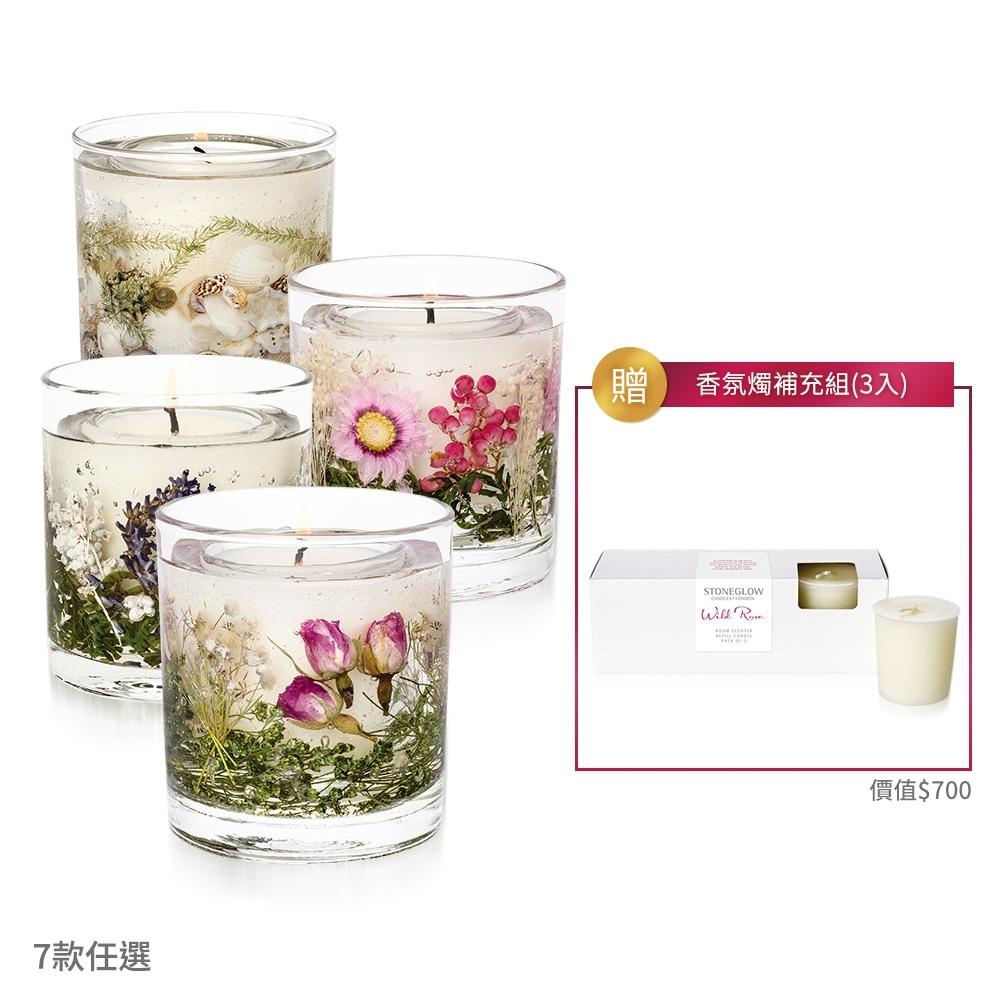 STONEGLOW 城市花語乾燥花香氛燭1+1超值獨家組 product image 1