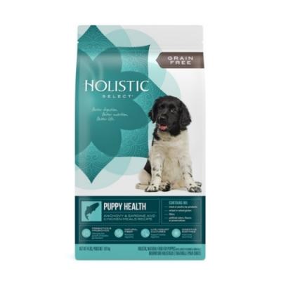 Holistic Select活力滋-無穀幼犬-二種魚健康成長配方 4磅/1.81 kg