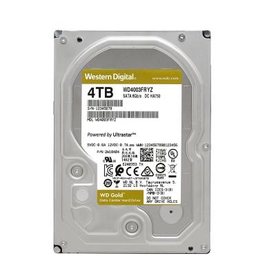 WD金標 4TB 3.5吋企業級硬碟 WD4003FRYZ