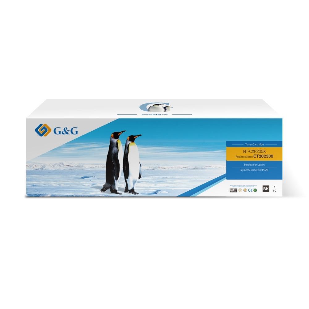 【G&G】for Fuji Xerox CT202330 黑色高容量相容碳粉匣 /適用 Fuji Xerox DocuPrint P225d/M225dw/M225z/P265dw/M265z
