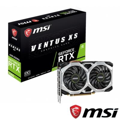 MSI微星 GeForce RTX 2060 VENTUS XS 6G OC 顯示卡