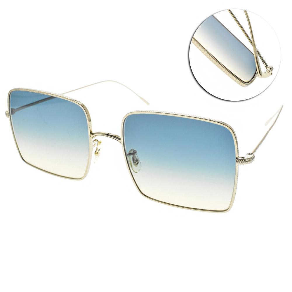 OLIVER PEOPLES太陽眼鏡 熱銷方框/金 #RASSINE  503575