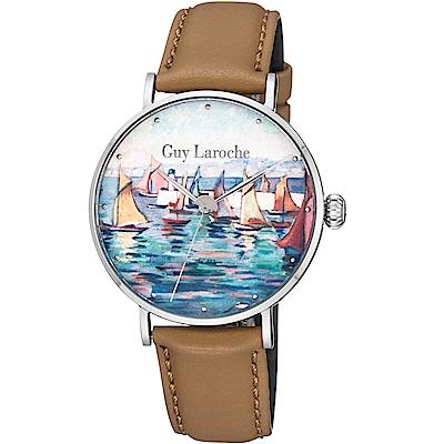 姬龍雪Guy Laroche Timepieces藝術系列腕錶-卡斯特蘭-戴西奧