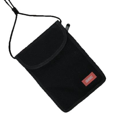 Dustgo防RFID防盜刷防側錄信用卡斜跨收納袋隨身貼身證件包ND系列