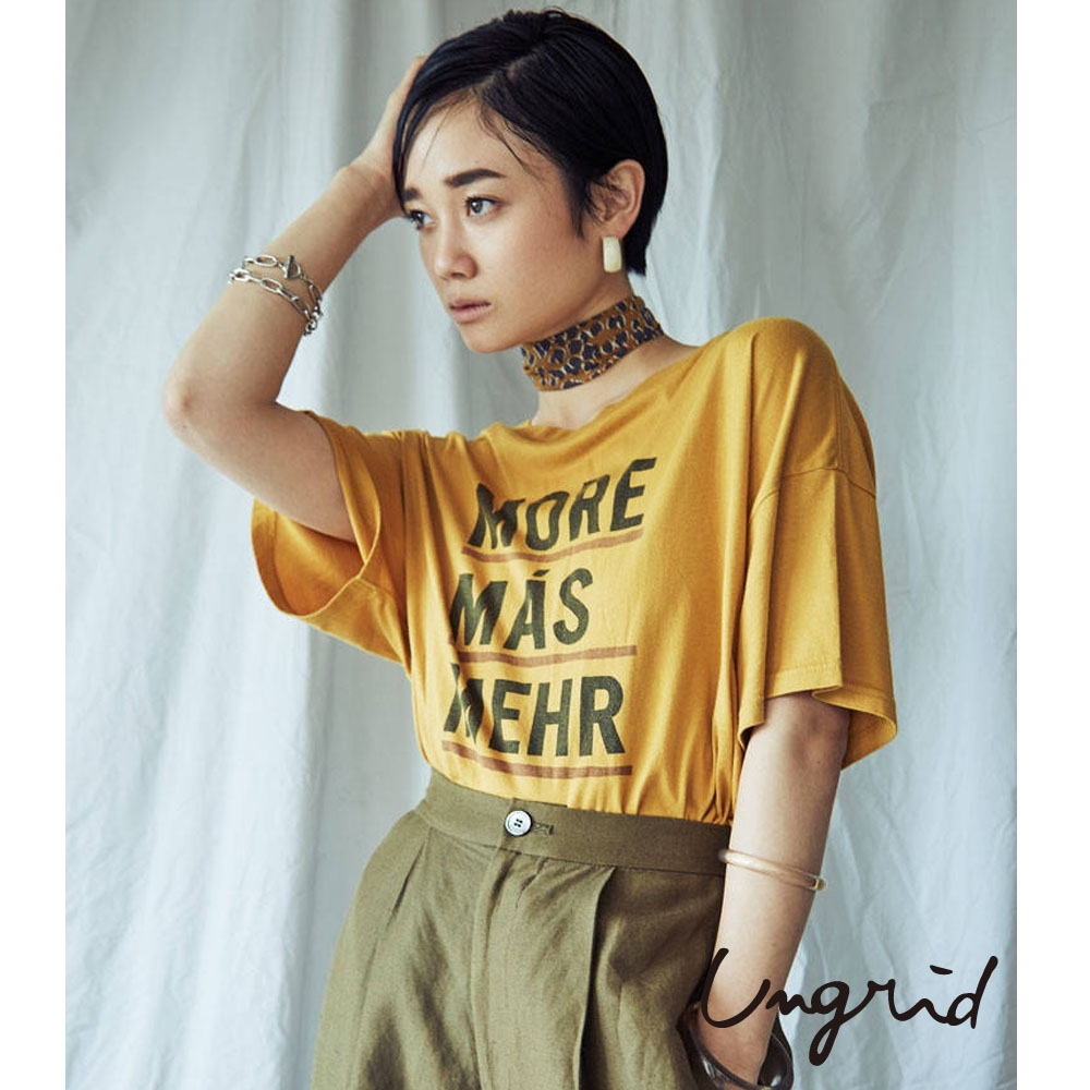 Ungrid 寬鬆字母T-shirt(3色)