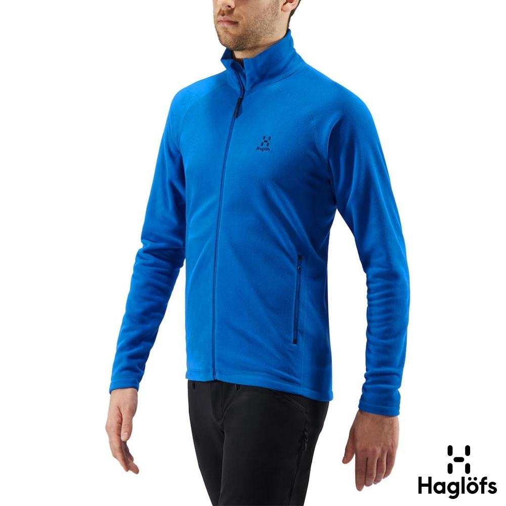 季末降價↘Haglofs 男 Astro 保暖 透氣 刷毛外套 風暴藍