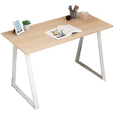 綠活居 里約時尚4尺雙色工作桌(二色可選)-120x60x75.5cm免組