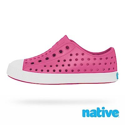 native 小童鞋 JEFFERSON小奶油頭鞋-好萊塢粉x貝殼白