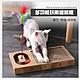寵愛有家-貓咪玩具多功能逗貓鐺鐺球瓦愣貓爪板寵物玩具-M product thumbnail 1