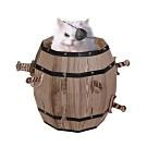 Cat barrel 瘋狂貓咪海盜桶/貓咪玩具屋