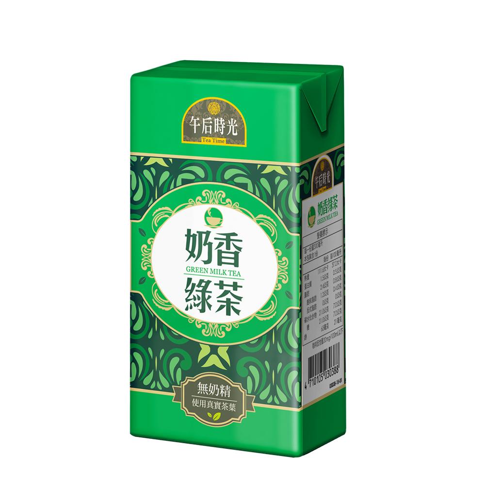 光泉 午后時光奶香綠茶(300mlx24瓶)
