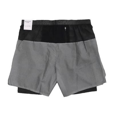 Nike 短褲 Wild Run Flex Stride 男款 Dri-FIT 吸濕排汗 二合一 拒水表層 灰 黑 DD5362-045