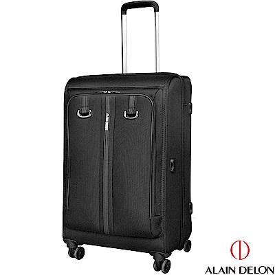 ALAIN DELON 亞蘭德倫 24吋旅者風範系列行李箱(黑)