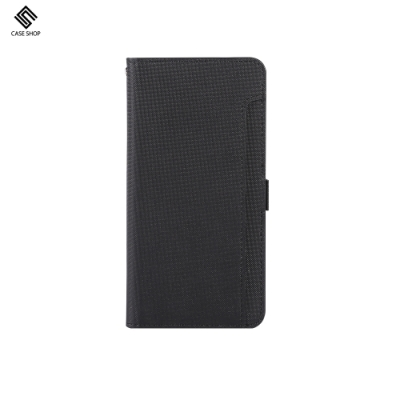 CASE SHOP iPhone 12 Mini (5.4 ) 專用前收納式側掀皮套-黑