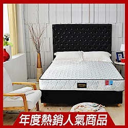 Ally愛麗 正反可睡-3M防潑水抗菌蜂巢獨立筒床墊-雙人5尺-本月限定