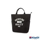 Kiiwi O! 美式復古系列帆布托特包 MILO 黑
