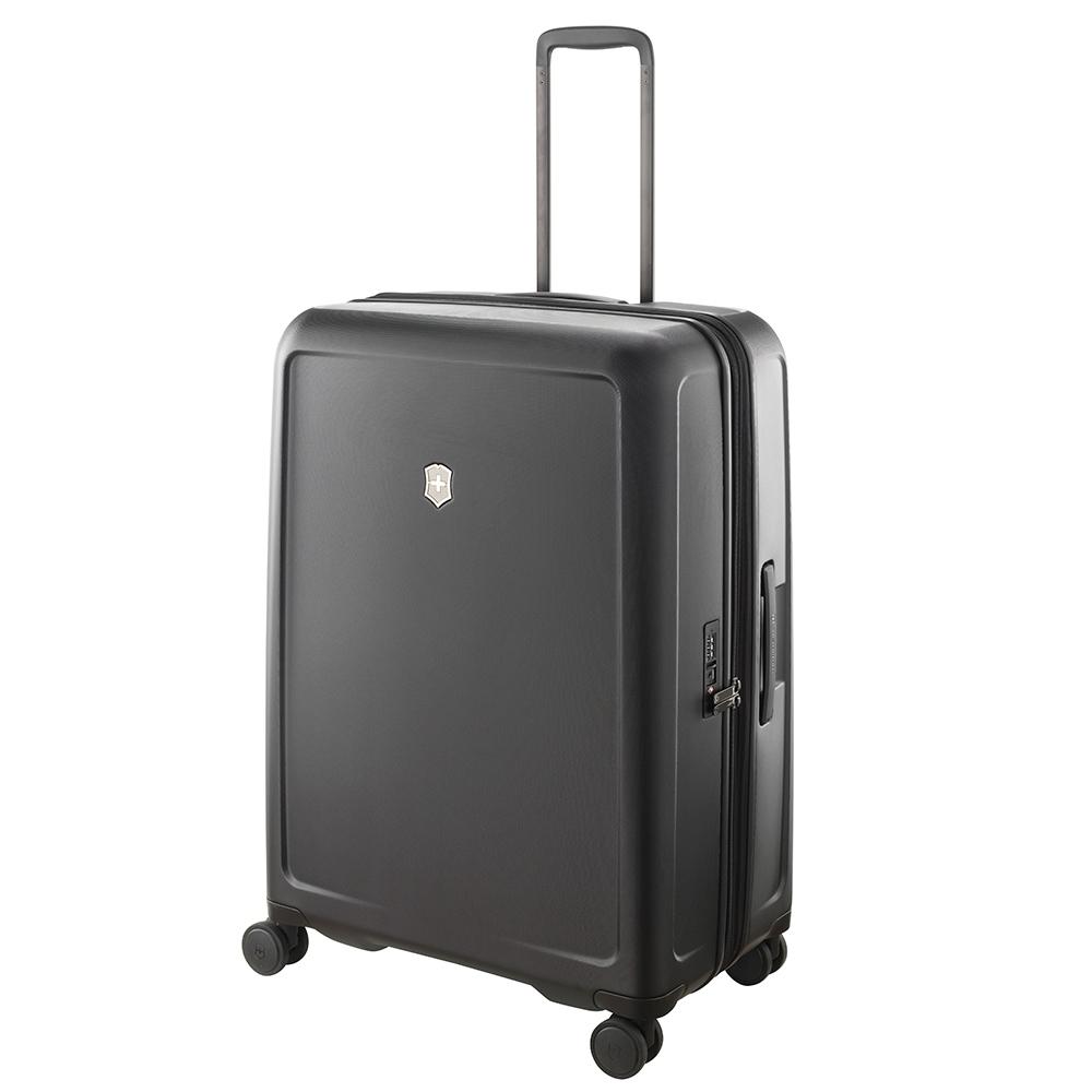 VICTORINOX 瑞士維氏CONNEX 可擴充29吋硬殼行李箱-黑 605671
