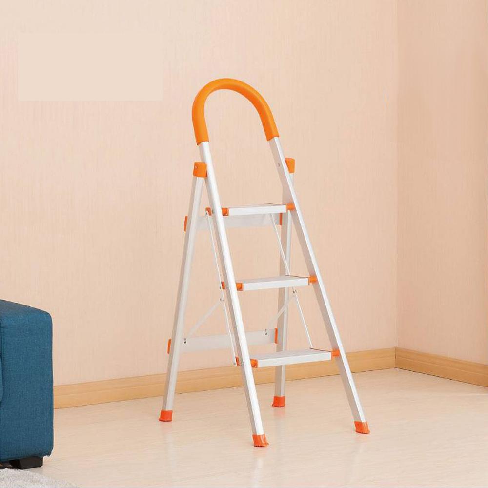 LOGIS 三階折疊收納鋁梯/活動梯/折疊梯/修繕梯