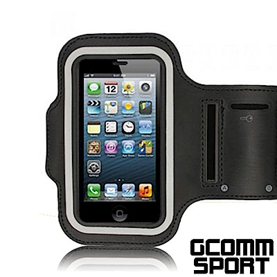 GCOMM SPORT 4.8吋通用 穿戴式運動臂帶腕帶保護套 黑色