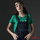 BRAPPERS 女款 披頭四LOGO印花基本短袖T-綠