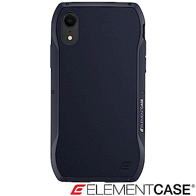 美國 Element Case iPhone XR Enigma 旗艦真皮防摔殼 - 藍