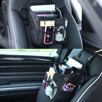 E.City_車用手提兩用多功能椅背3C收納置物袋
