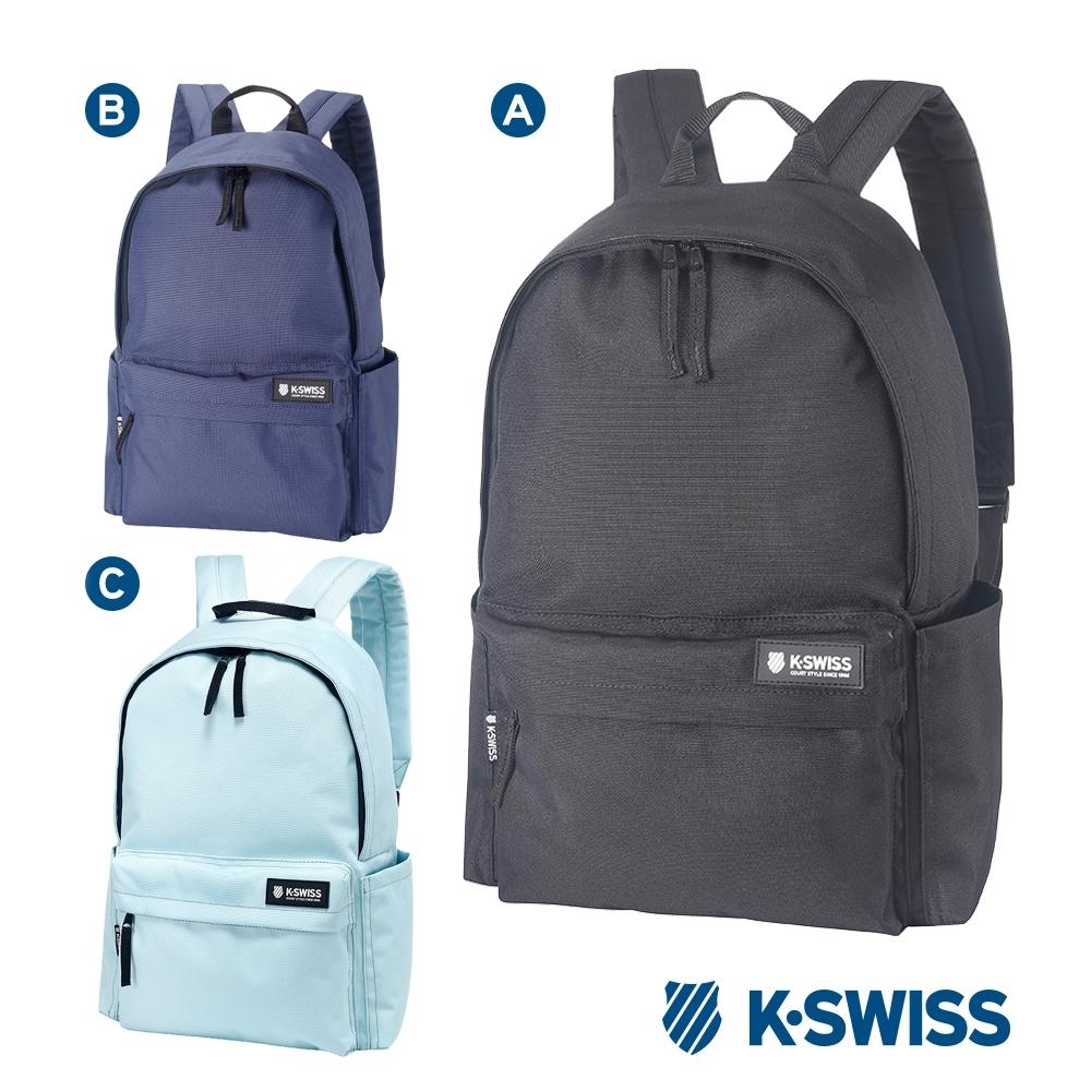 K-SWISS Poly Backpack時尚後背包-三色任選