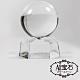 A1寶石 白色琉璃球風水擺飾-同白水晶功效-消災解厄淨化磁場帶來正向能量 product thumbnail 1