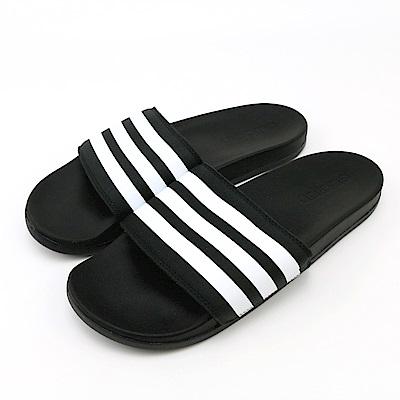 ADIDAS-男女涼拖鞋AQ4935-黑