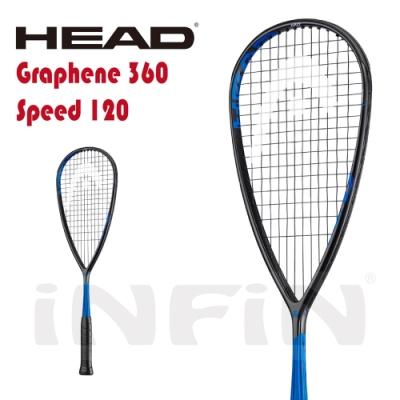 【HEAD】壁球拍 GRAPHENE 360 SPEED 120g 黑/藍 211019