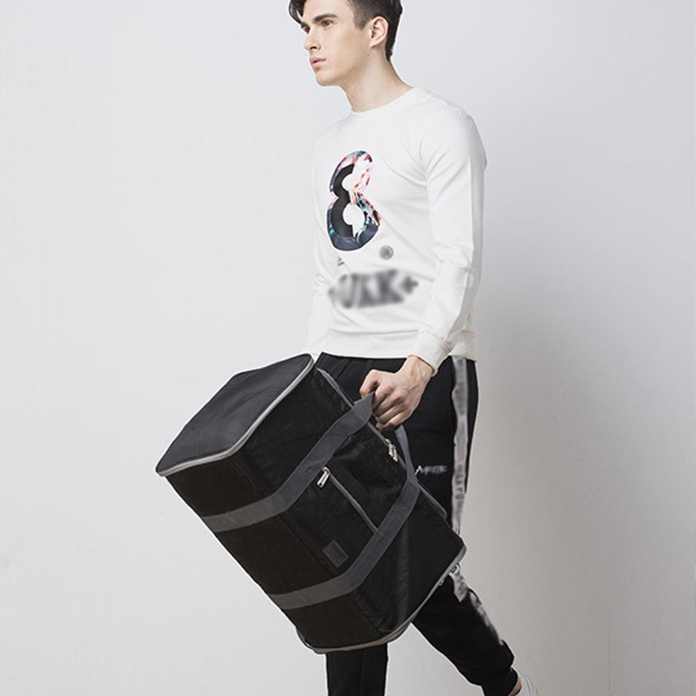 I FUN 現+預 便攜式摺疊收納萬用旅行袋(側肩包/手提包/旅行包)