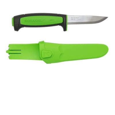 MORAKNIV 13466 Basic 511 高碳鋼直刀 黑/綠