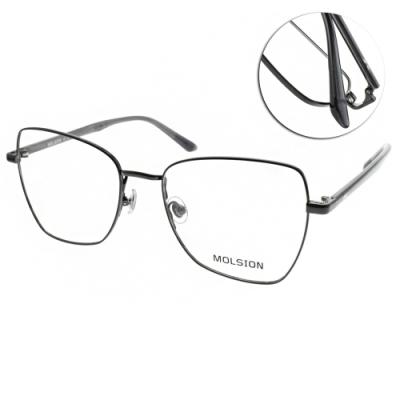 MOLSION 光學眼鏡 Angelababy代言 黑 # MJ7079 B10