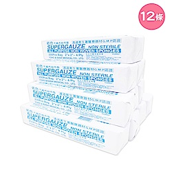 【Roaze 柔仕】乾濕兩用嬰兒拋棄式小方巾 12 包 (200片/包)