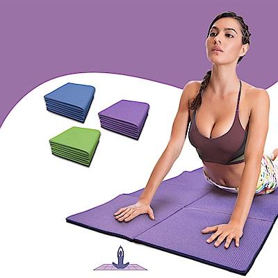 【Incare】方型環保折疊式止滑瑜珈墊(0.6MM/3色可選)