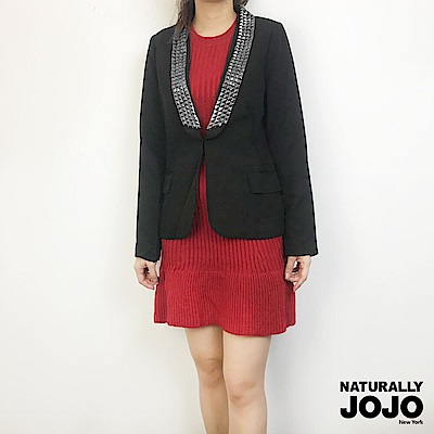 【NATURALLY JOJO】搖滾西裝(黑)