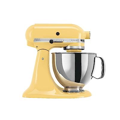 KitchenAid抬頭式桌上型攪拌機奶油黃3KSM150PSTMY