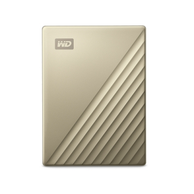 WD My Passport Ultra 2TB(閃耀金) 2.5吋USB-C行動硬碟