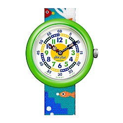 FlikFlak 兒童錶 FISH N REEF 海底世界手錶