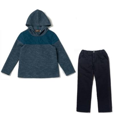 PIPPY 保暖透氣連帽上衣+彈性休閒褲