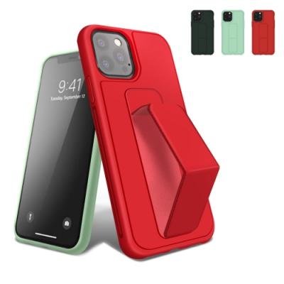 iPhone 12 Pro Max 強力磁吸 純色 立架 松針綠 (iPhone12ProMax手機殼 iPhone 12 Pro Max保護殼 )