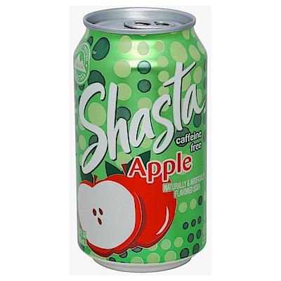 SHASTA 蘋果風味汽水(355mlx12瓶)