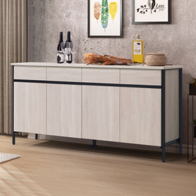 Homelike 瑞利5.3尺餐櫃-160 x 40 x 77 公分