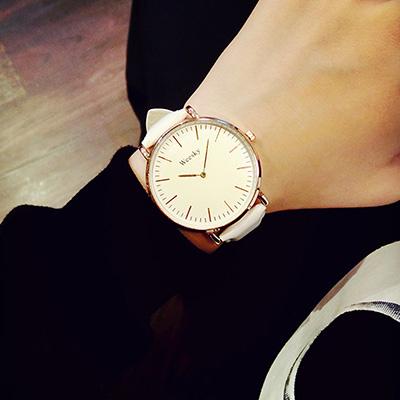watch-123 咖啡一號店-文青潮流時尚復古簡約手錶 (3色任選)