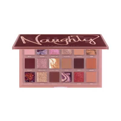 HUDA BEAUTY Naughty裸色18色眼影盤16.8g