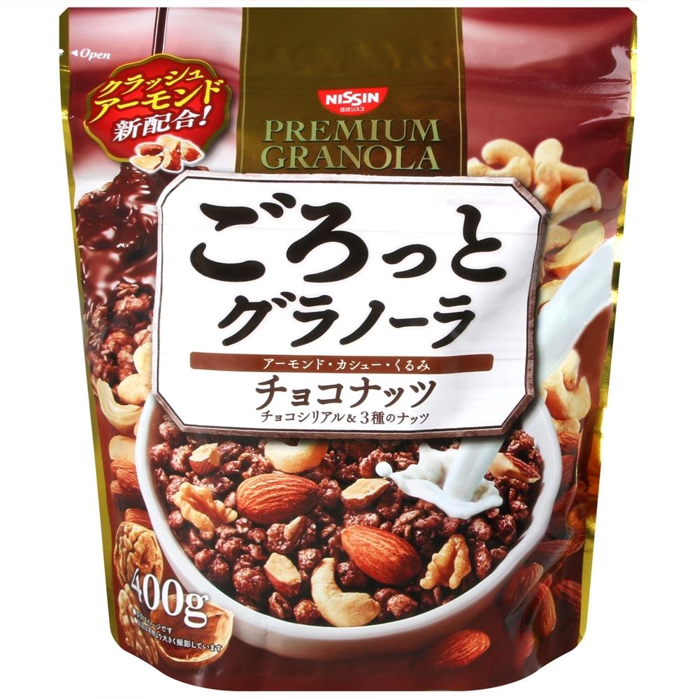 NISSIN 巧克力綜合堅果穀片 (400g)